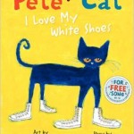 Pete the cat and white shoes