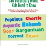 240 vocabulary words