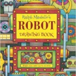 Robot drawing book